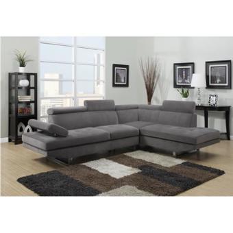 canapé d angle gris