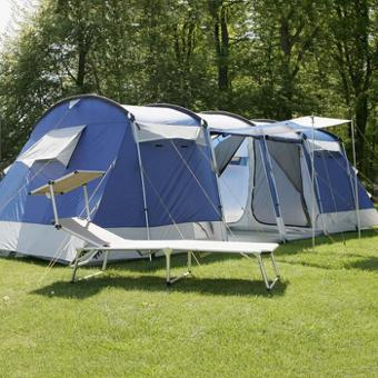 tente familiale camping