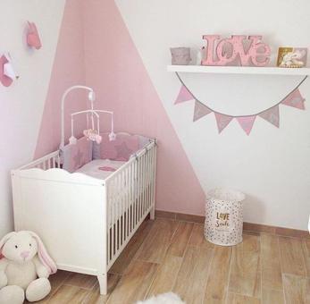 chambre bébé fille déco