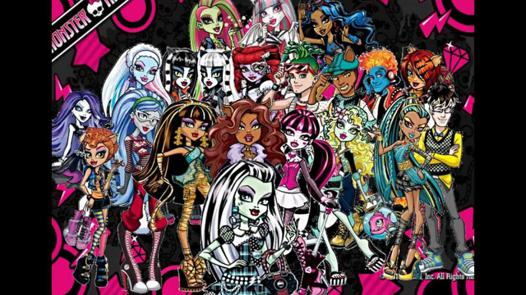 dessin animé monster high