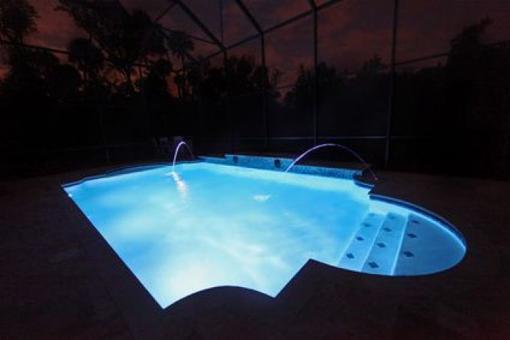 eclairage piscine