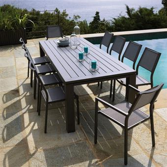 ensemble table jardin