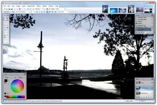 logiciel photo