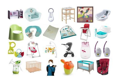 matériel pour bébé