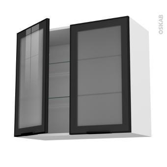 meuble haut vitré