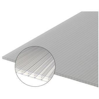 plaque polycarbonate alvéolaire