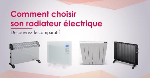 radiateur électrique économique que choisir