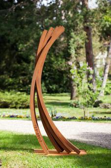 sculpture de jardin