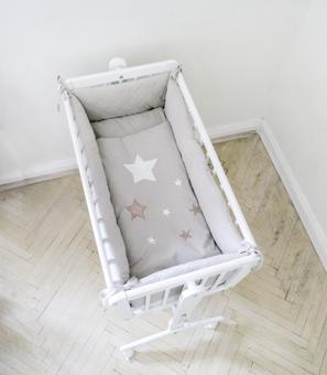 tour de lit pour berceau