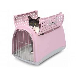 cage de transport lapin