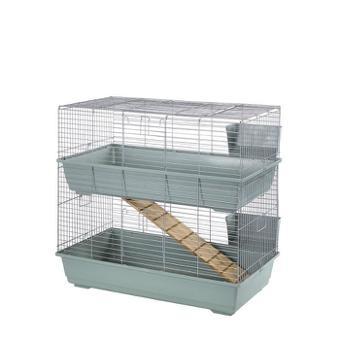 cage lapin etage