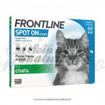 frontline spot on chat