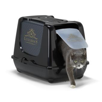 litiere chat fermée