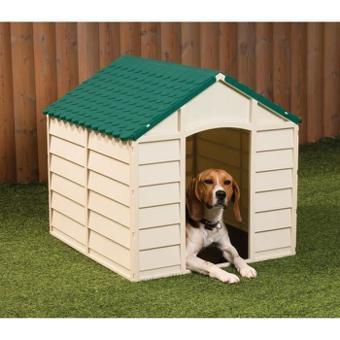 niche pour chien plastique