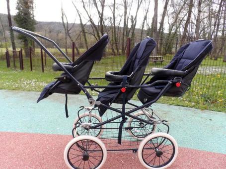 poussette triple bebe confort