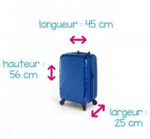 taille valise standard