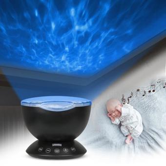 veilleuse bébé prise