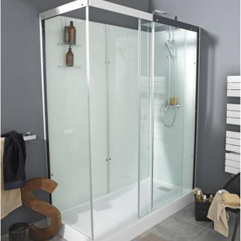 cabine douche rectangulaire