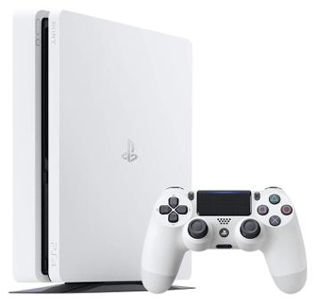 ps4 slim blanche